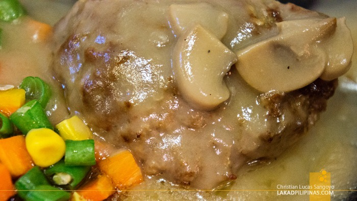 Big Joe's Sizzling Burger Steak (Php65.00)