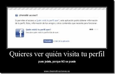 Quién visita tu perfil en Facebook
