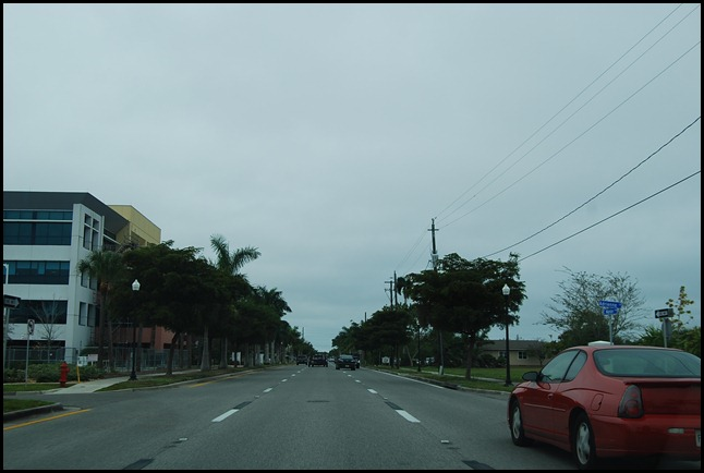 Entering Punta Gorda, FL
