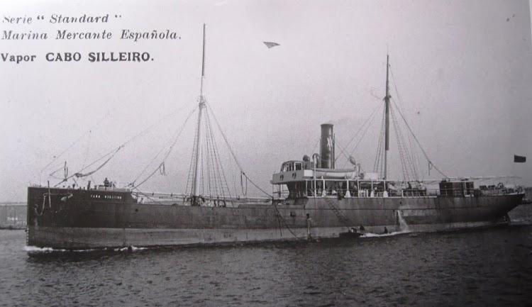 Vapor CABO SILLEIRO. Postal. Documento remitido por Juan Mª Rekalde. Nuestro agradecimiento.jpg