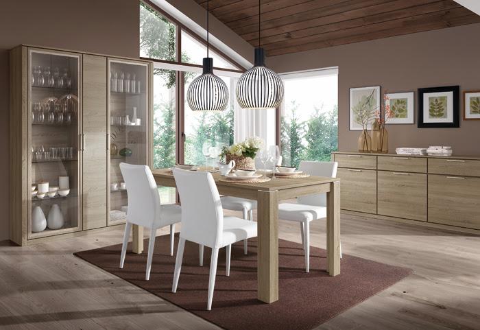 Vitrinas en tu comedor una idea de decoraci n con mucha for Casa de muebles kibuc