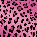 Leopard Print Pink Theme HD logo