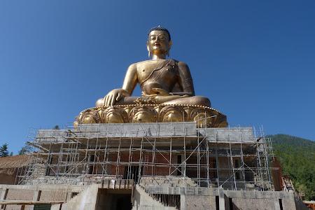 Statuia Buda din Thimphu