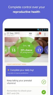 Glow Ovulation Period Tracker - screenshot thumbnail