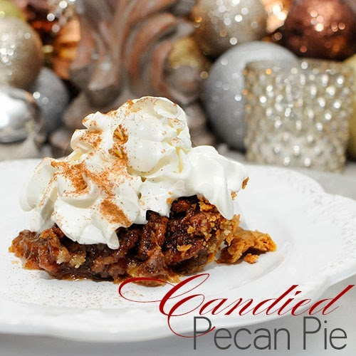 #BakingADifference Candied Pecan Pie Recipe