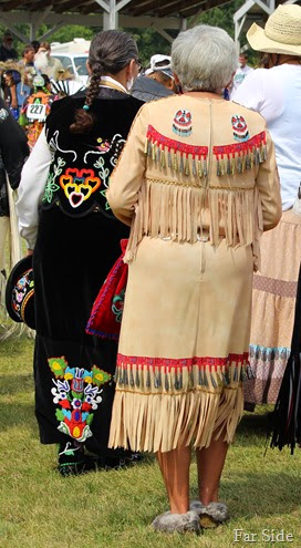 Older women in beadwork