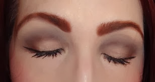 The Nude Mattes Eyeshadow Palette_look 2 eyes closed
