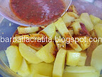 Cartofi cu cimbru la cuptor preparare reteta
