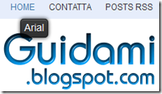 WhatFont su Guidami.blogspot.com
