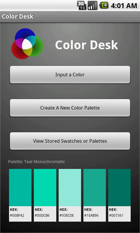 Color Desk- screenshot