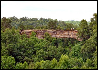 13 - Lookout point - view of Natural Bridge