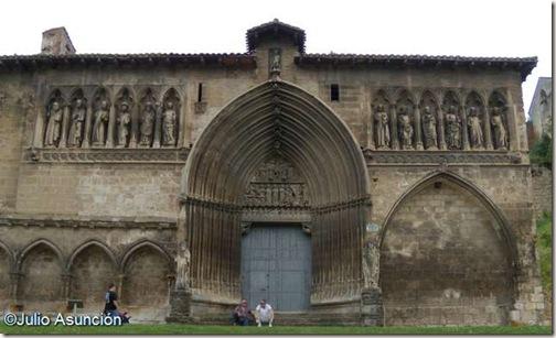 Iglesia del Santo Sepulcro - Estella - Fachada norte