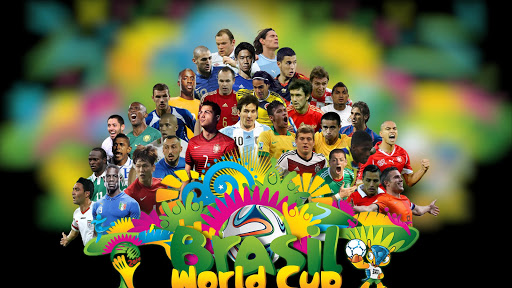 Football World Cup 2014 Heroes