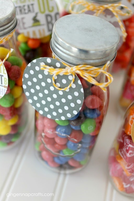 milk bottles gift idea