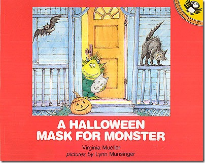 a halloween mask for monster
