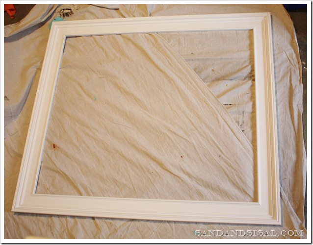 glued frame