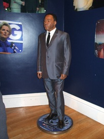 MLK model at Madame Tussauds