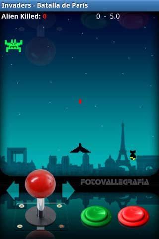 Invaders- screenshot