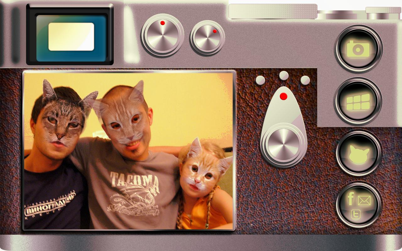 Cat Booth (cat face Camera)- screenshot