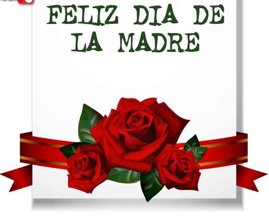 Feliz dia de la madre (Tarjeta)