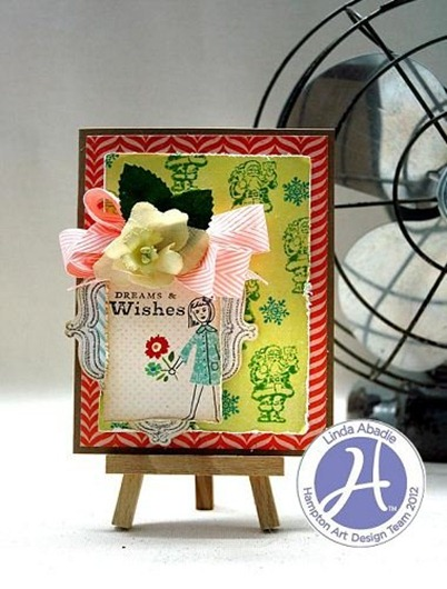 Dreams and wishes card Linda Abadie Hampton Art