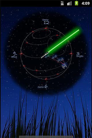 JediClock - Green- screenshot