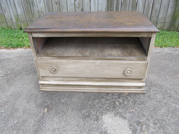 Chest of Drawers into Entertainment Center (67)