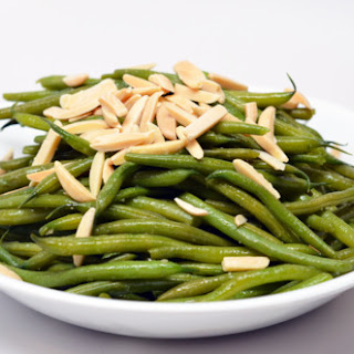 Quick Nuked Green Beans