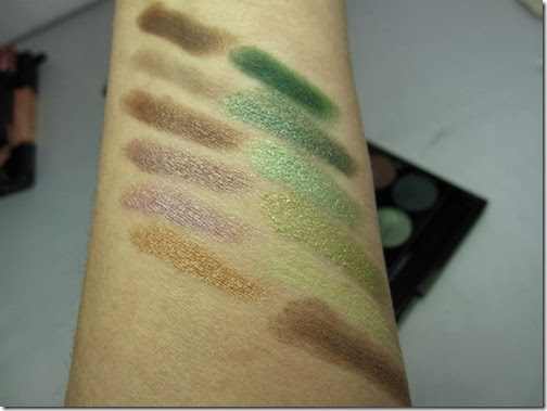 Swatches Sleek MakeUP Garden of Eden