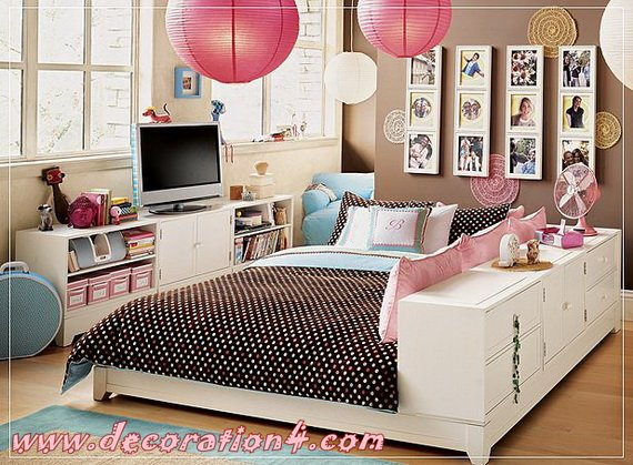 Modern Kids' Bedrooms Furniture For Small Space designs