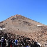Der Teide-Vulkankrater