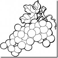 Dibujos De Uvas Para Colorear Dibujos Colorear