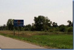 3541 Indiana US-31 - state line Welcome sign