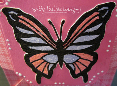 Butterfly - shadow box - box-card 6