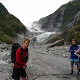South Island - Franz Josef Gacier - one of our guides... McLovin'
