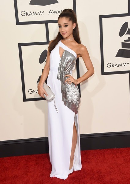 Ariana Grande attends The 57th Annual GRAMMY Awards