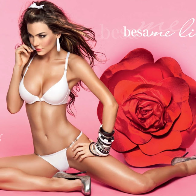 Natalia Velez Sexy Lenceria Besame Foto 24