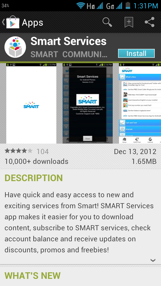 smart services app android 1