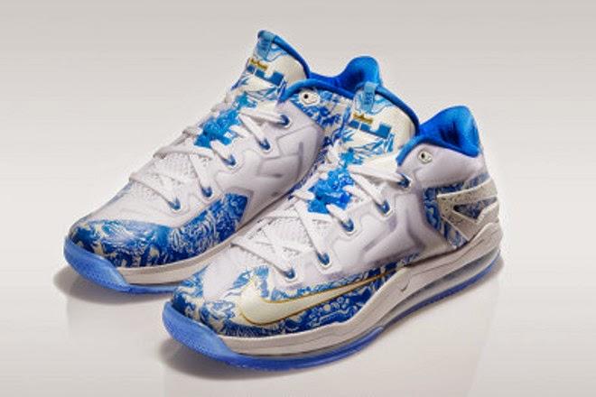 newest e507f 53f08 Nike Max LeBron XI Low 8220Chinese Vase8221 ...