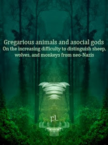 Gregarious animals and asocial gods Cover