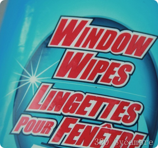 window wipes in car