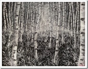 Birch Forest1 tina townsend