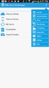 SME Cloud File Manager - screenshot thumbnail