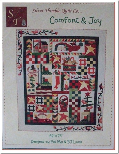Comfort & Joy Pattern Cover
