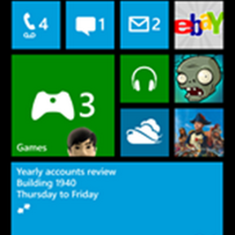 App landscape for Windows Phone