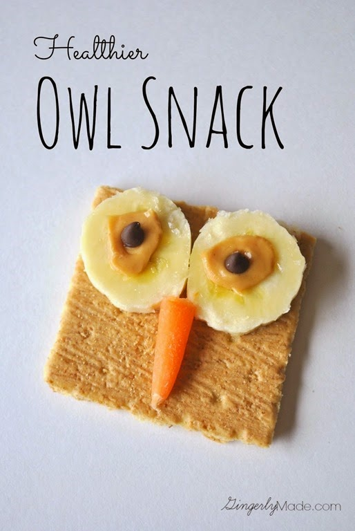 Healthier Owl Snack Title