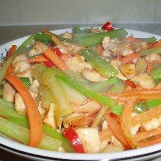 Spicy Chinese Stir-Fry Chicken Breast Recipe