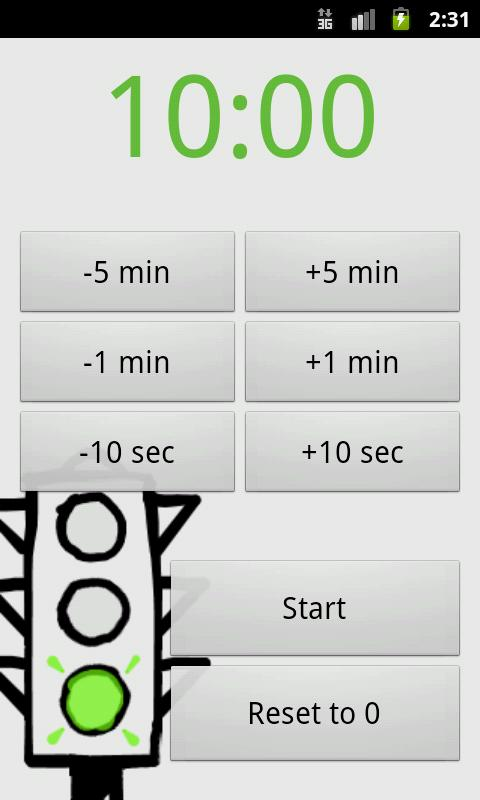 Yata! Yet Another Timer App - screenshot