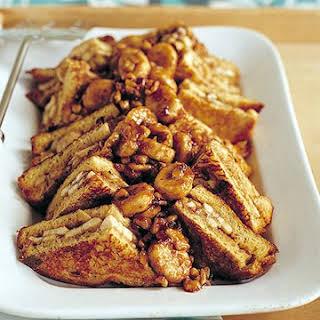 Banana Nut French Toast.