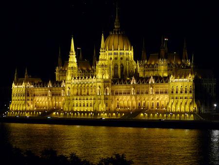 Obiective turistice Ungaria: Palatul Parlamentului Budapesta